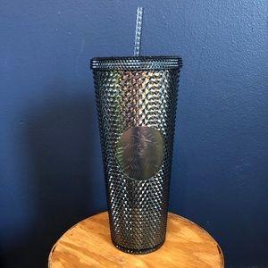 NWT Starbucks studded dark tumbler cup